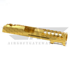 Airsoft MasterPiece Hive Slide for Tokyo Marui Hi-Capa 5.1 - Gold - airsoftgateway.com