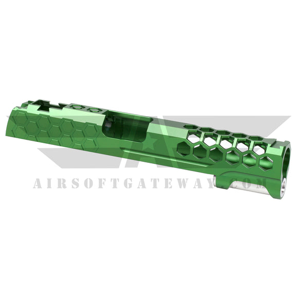 Airsoft MasterPiece Hive Slide for Tokyo Marui Hi-Capa 5.1 - Green - airsoftgateway.com