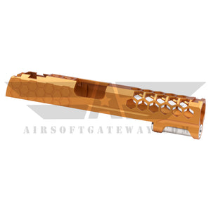 Airsoft MasterPiece Hive Slide for Tokyo Marui Hi-Capa 5.1 - Orange - airsoftgateway.com