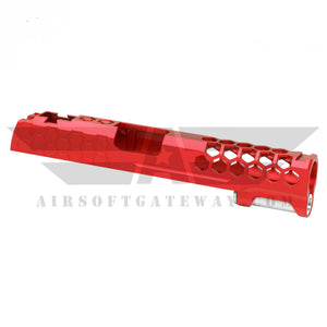 Airsoft MasterPiece Hive Slide for Tokyo Marui Hi-Capa 5.1 - Red - airsoftgateway.com