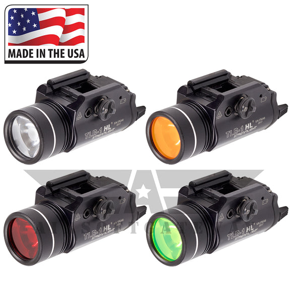 Blind Fire Replacement Lens Filters for Streamlight TLR-1 HL - 4 Pack -Y7 - airsoftgateway.com