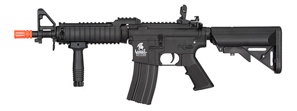Lancer Tactical LT-02C-G2 MK18 Nylon Polymer MOD 0 AEG Airsoft Rifle - Black - airsoftgateway.com