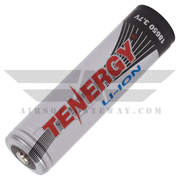 Tenergy Li-Ion 18650 3.7v 2600mAH Rechargeable Button Top Battery