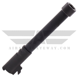 Nineball M1911A1 Metal Outer Barrel with Threads BLACK - airsoftgateway.com