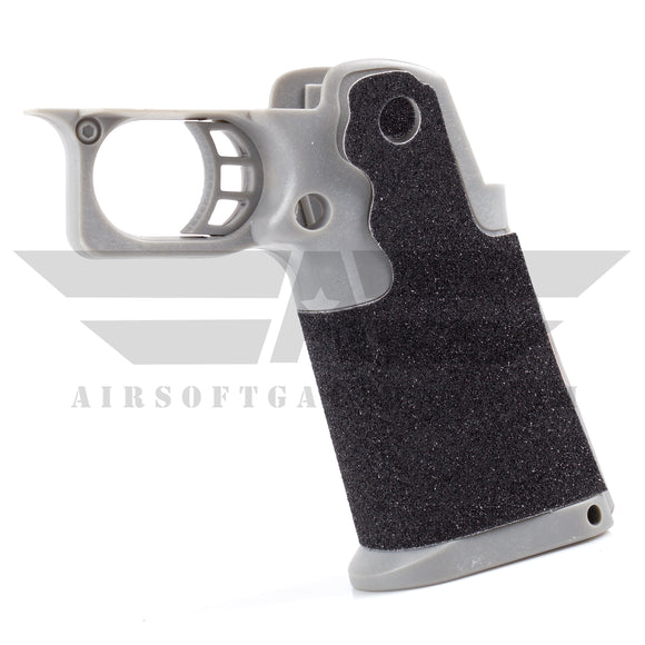 Airsoft Masterpiece Sand Paper Grip - GREY - airsoftgateway.com