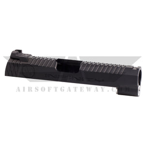 Airsoft Masterpiece Infinity logo 4.3 Slide with Rear Sight - Black - airsoftgateway.com