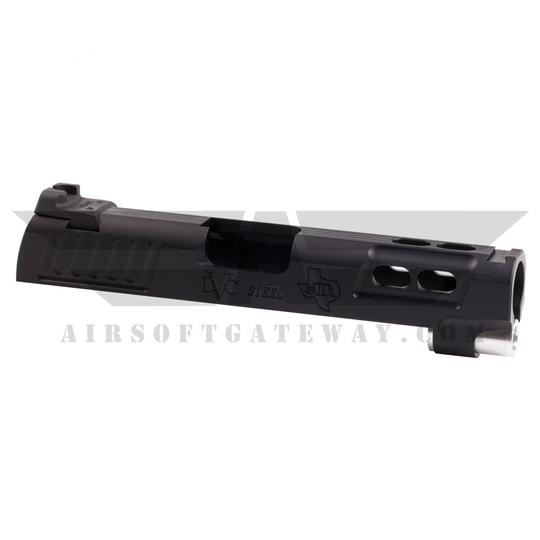 "PRE-ORDER - Airsoft Masterpiece ""Baby Brother"" 4.3 Slide ** NO rear sight! ** - Gold"