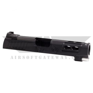 "Airsoft Masterpiece ""Baby Brother"" 4.3 Slide ** NO rear sight! ** - Silver - airsoftgateway.com"