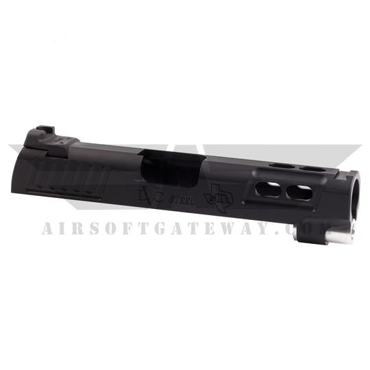 "Airsoft Masterpiece ""Baby Brother"" 4.3 Slide ** NO rear sight! ** - Black - airsoftgateway.com"