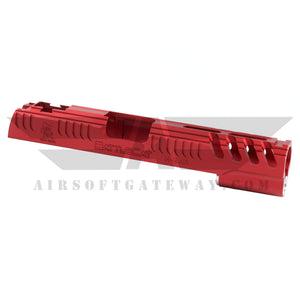 Airsoft Masterpiece LimCat BattleCat 2017 Standard Slide for Hi-CAPA - Red - airsoftgateway.com