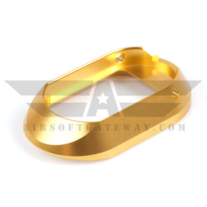 Airsoft Masterpiece STI DVC For AA Aluminum Magazine Well - Gold - airsoftgateway.com