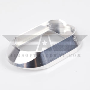 Airsoft Masterpiece STI DVC For AA Aluminum Magazine Well - Silver - airsoftgateway.com