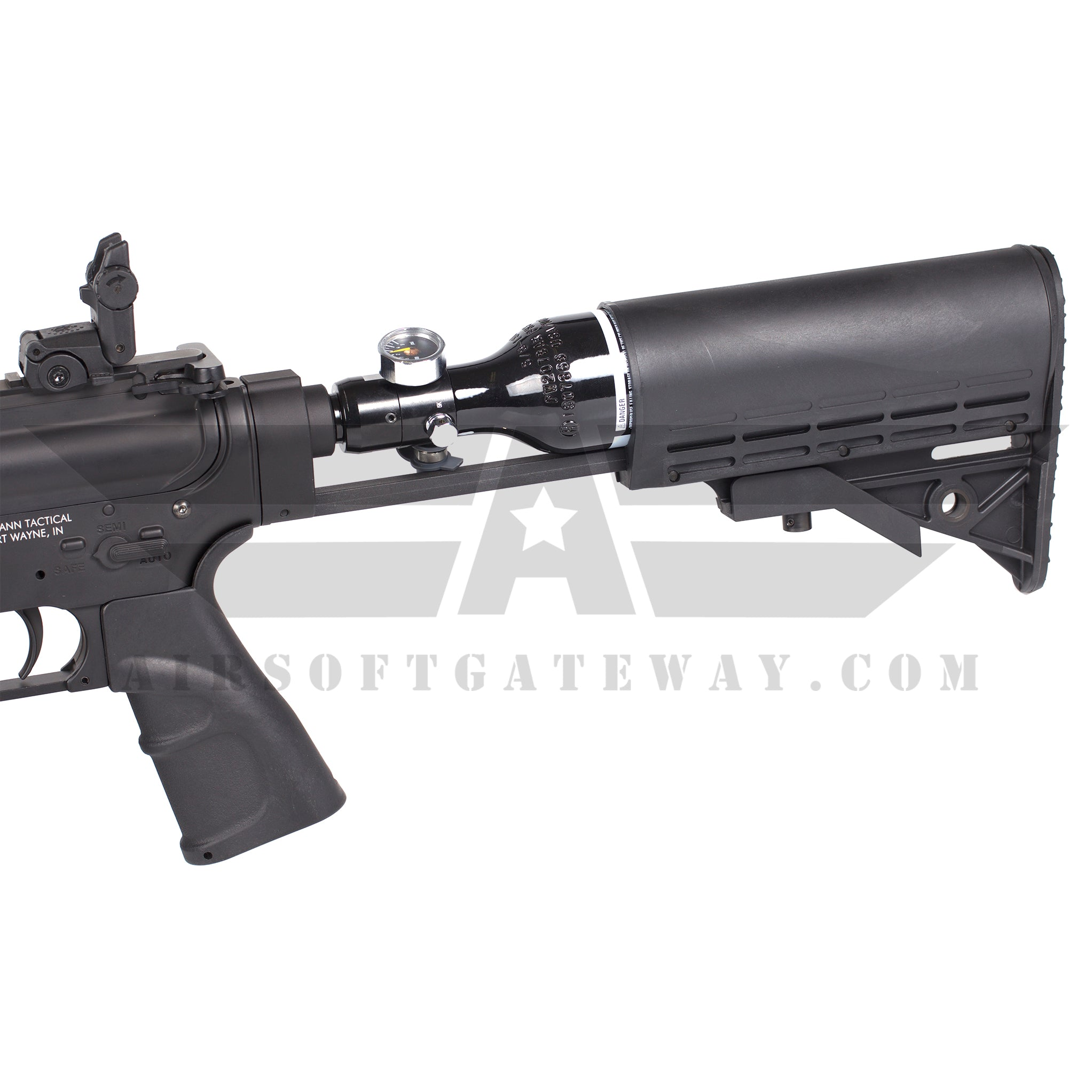 Tippmann Omega-PV CQB 9 inch HPA Airsoft Rifle with - 13ci