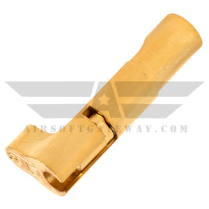Airsoft Masterpiece Magazine Release Catch - STI Style Gold - airsoftgateway.com