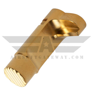 Airsoft Masterpiece 1911 Magazine Release Catch Gold - airsoftgateway.com