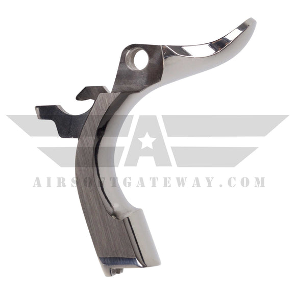 Airsoft Masterpiece STEEL Grip Safety - Type 1 STI style Silver - airsoftgateway.com