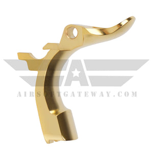 Airsoft Masterpiece STEEL Grip Safety - Type 1 STI Style Gold - airsoftgateway.com