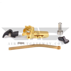 Airsoft Masterpiece Infinity QB CNC Steel Hammer & Sear Set for TM Hi-Capa Gold - airsoftgateway.com