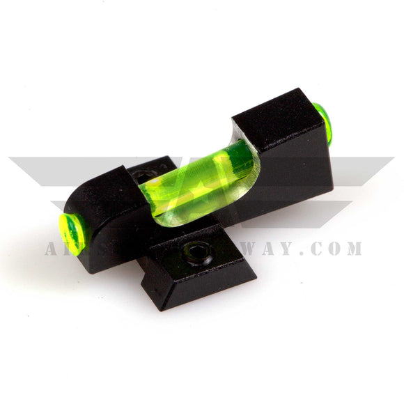 CowCow Fiber Optic Trinity Green Front Sight - airsoftgateway.com