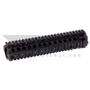 Airstrike MK Rail 9in Type C - Black -X14 - airsoftgateway.com