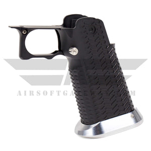 Airsoft Masterpiece Aluminum Grip - Type 11 CK Version with STI Mag Release - Black - airsoftgateway.com