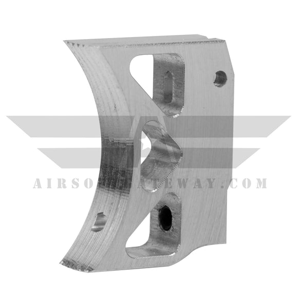Airsoft Masterpiece Aluminum Trigger - Type 3 - Silver - airsoftgateway.com