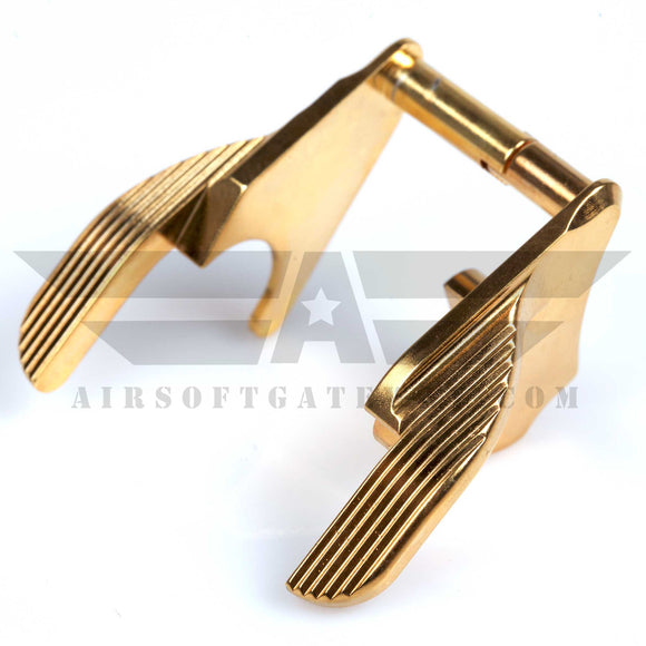 Gunsmith Bros AR2059 Thumb Safety STI - Gold - airsoftgateway.com