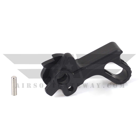 UAC Match Grade Stainless Steel Hammer For Tokyo Marui Hi-Capa 5.1/4.3 Type B - Black - airsoftgateway.com