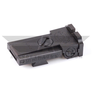 Airsoft Masterpiece Rear Sight with STI Markings for Tokyo Marui Hi-Capa 5.1 - airsoftgateway.com