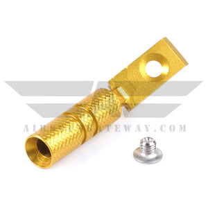 UAC Hi-Capa Cocking Handle Type B For Tokyo Marui Hi-Capa 5.1 - Gold - airsoftgateway.com