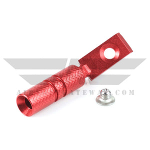 UAC Hi-Capa Cocking Handle Type B For Tokyo Marui Hi-Capa 5.1 - Red - airsoftgateway.com