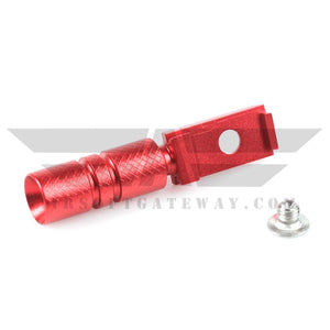 UAC Hi-Capa Cocking Handle Type A For Tokyo Marui Hi-Capa 5.1 - Red - airsoftgateway.com