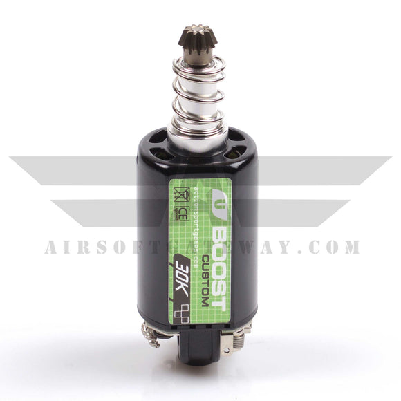 ASG Ultimate Upgrade Motor, BOOST 30K Custom, long axle For Airsoft Rifles - airsoftgateway.com