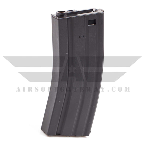 Lancer Tactical M4 300rd Hi-Cap Magazine for Airsoft AEG Rifles - Black - airsoftgateway.com
