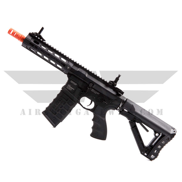 G&G GC16 Warthog 7inch Airsoft AEG Rifle with Keymod Rail System - Black - airsoftgateway.com