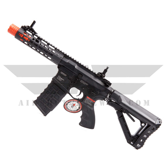 G&G GC16 WILD HOG 7 Inch Keymod Rail Airsoft AEG Rifle - Black - airsoftgateway.com