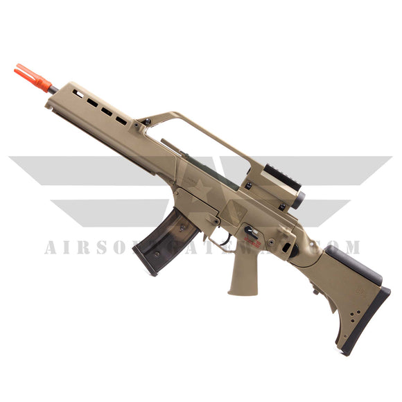 Elite Force/Umarex H&K G36KV Electric Blowback Airsoft AEG Rifle - Tan - airsoftgateway.com