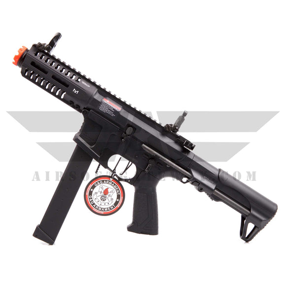 G&G Armament ARP 9 AEG Airsoft Rifle Gun with Battery and Charger - Black - airsoftgateway.com