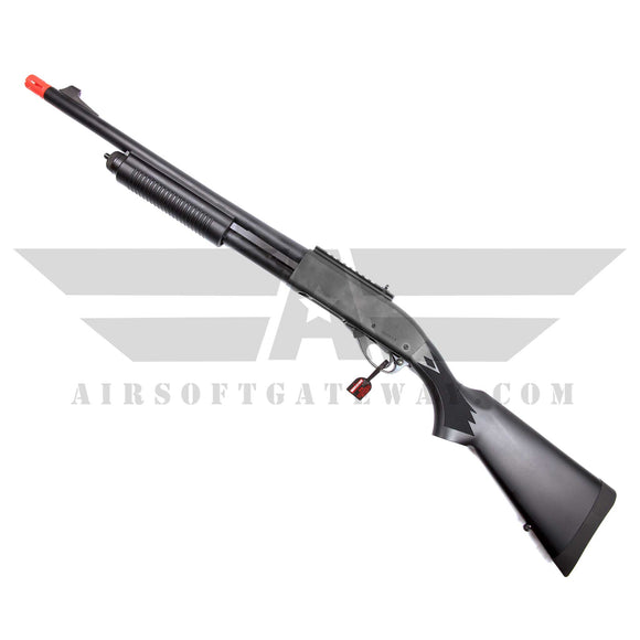 Tokyo Marui M870 Tactical Airsoft Pump Action Gas Shotgun - Black - airsoftgateway.com