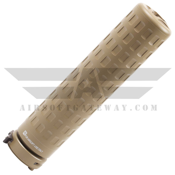 PTS Griffen Armaments M4SD-K Mock Suppressor Gen 2 - Tan - airsoftgateway.com