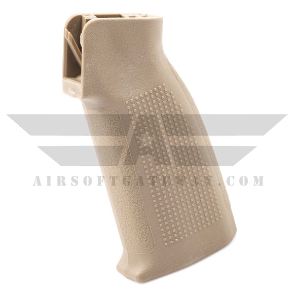 PTS Enhanced Polymer Grip Compact fpr Gas Blowback Rifles M4/M16 -  Tan - airsoftgateway.com