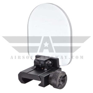 AW - Rail Mounted Sight Protector - Clear - airsoftgateway.com
