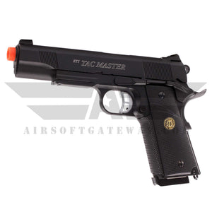 ASG STI 1911 Tac Master Gas Blowback Airsoft Pistol with Lower Rail - airsoftgateway.com