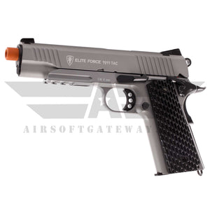Elite Force 1911 TAC CO2 Airsoft Pistol – Gray - airsoftgateway.com
