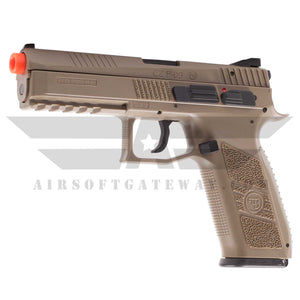 ASG CZ P-09 Gas Blowback Pistol Polymer TAN - airsoftgateway.com