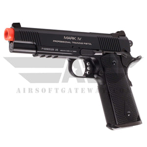 KWA 1911 MK IV PTP Gas Blowback Pistol with Lower Rails - airsoftgateway.com