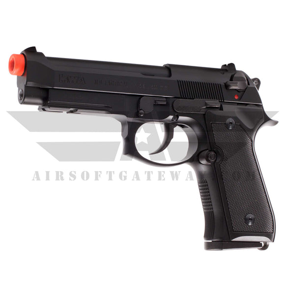 KWA M9 PTP Tactical Gas Blowback Pistol with Lower Rail - airsoftgateway.com