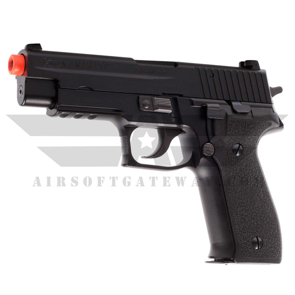KWA M226 PTP Full Metal Airsoft Gas Blowback Pistol with Lower Rails - airsoftgateway.com
