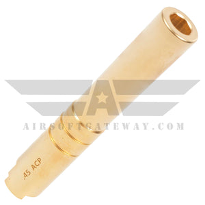 Airsoft Masterpiece Outer Barrel .45 for Hi-CAPA 4.3 - Gold - airsoftgateway.com