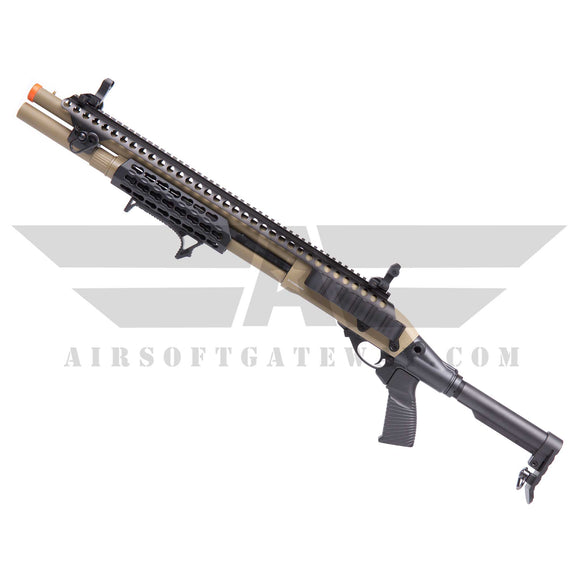 JAG Arms Gas Scattergun Airsoft Gas Shotgun SPX TAN - airsoftgateway.com
